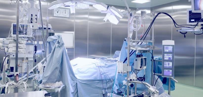 Bloc opératoire d'un hôpital